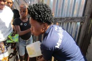 The Water Project: New London Community, Magburaka Road -  Training