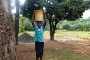 The Water Project: Ematetie Primary School -  School Cook With Water