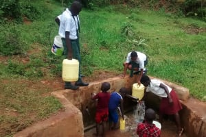 The Water Project: Mulwakhi Secondary School -  Fetching Water In The Community