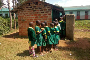 The Water Project: Madegwa Primary School -  Latrines