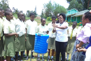 The Water Project: Malinya Girls Secondary School -  Training