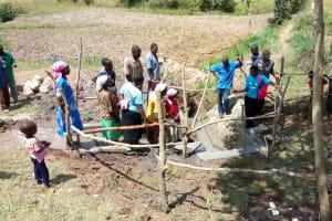 The Water Project: Futsi Fuvili Community, Shikanga Spring -  Management Training