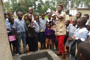 The Water Project: St. Antony Shijiko Primary School -  Tank Training