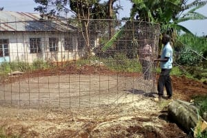 The Water Project: Ebubayi Secondary School -  Wire Mesh