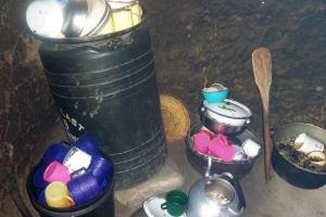 The Water Project: Ematetie Primary School -  Utensils In Kitchen
