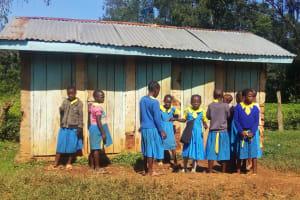 The Water Project: Munyanda Primary School -  Latrines