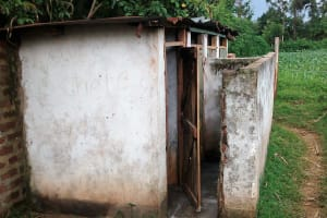 The Water Project: Erusui Secondary School -  Latrines