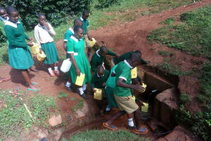 The Water Project: Chavakali Primary School -  Spring