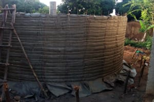 The Water Project: Lukala Primary School -  Tank Construction