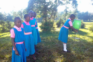 The Water Project: Mudete Primary School -  Hand Washing Station
