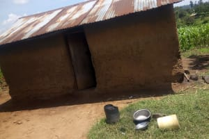 The Water Project: Musango Community, Jared Lukoko Spring -  Household