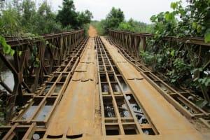 The Water Project: Kigbal Community -  Iron Bridge To Village