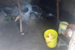 The Water Project: Mwituwa Community, Shikunyi Spring -  Kitchen