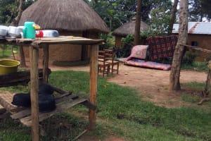 The Water Project: Sharambatsa Community, Mihako Spring -  Household