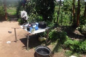 The Water Project: Shitungu Community, Omar Rashid Spring -  Dish Rack