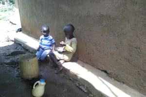The Water Project: Mwichina Community, Mwichina Spring -  Children