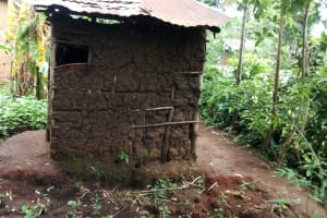 The Water Project: Shiyunzu Community, Imbukwa Spring -  Mud Latrine