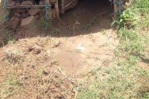 The Water Project: Musango Community, Jared Lukoko Spring -  Latrines