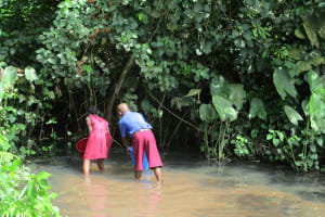 The Water Project: Sankoya Community, Prophecy Primary School -  Alternative Source