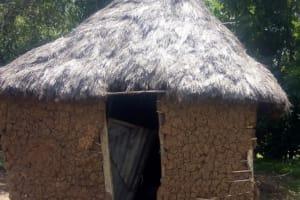 The Water Project: Musango Community, Ham Mwenje Spring -  Latrine
