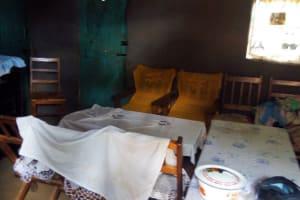 The Water Project: Sharambatsa Community, Mihako Spring -  Inside Esthers Home