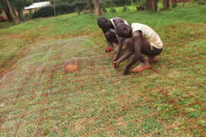 The Water Project: Lureko Girls Secondary School -  Tank Construction