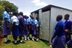 The Water Project: Eshisenye Girls Secondary School -  Latrines