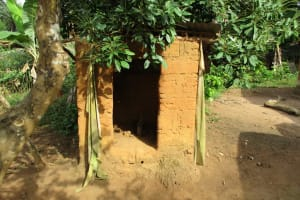 The Water Project: Kigbal Community -  Latrine