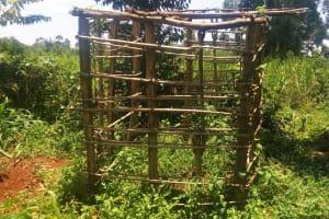 The Water Project: Ataku Community, Ataku Spring -  Incomplete Latrine