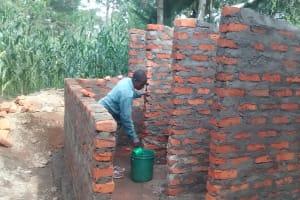 The Water Project: Ebusiratsi Special Primary School -  Latrine Construction