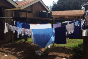 The Water Project: Mumias Complex Primary School -  Clothesline
