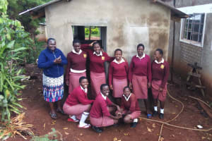The Water Project: Lureko Girls Secondary School -  Finished Latrines