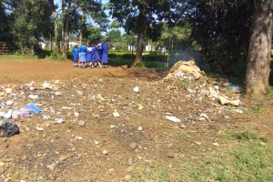 The Water Project: Mumias Complex Primary School -  Garbage Area