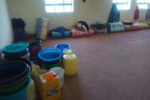 The Water Project: Eshisenye Girls Secondary School -  Water Containers