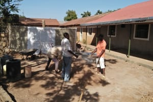 The Water Project: Shibale Primary School -  Tank Construction