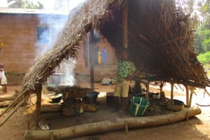 The Water Project: Kigbal Community -  Kitchen