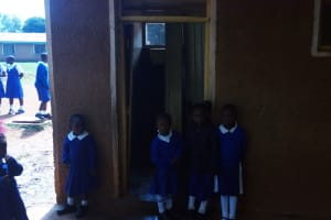 The Water Project: Mumias Complex Primary School -  Latrines