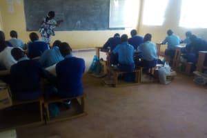 The Water Project: Eshisenye Girls Secondary School -  In Class