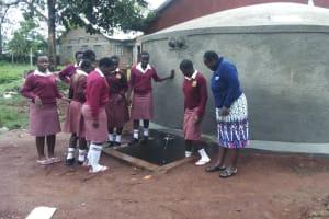 The Water Project: Lureko Girls Secondary School -  Clean Water