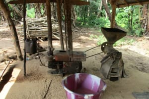The Water Project: Kigbal Community -  Rice Mill