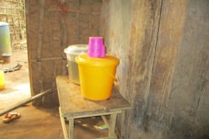 The Water Project: Kigbal Community -  Water Storage