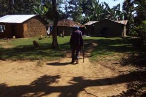 The Water Project: Bukhunyilu Community, Solomon Wangula Spring -  Mr Wangula