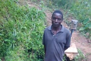 The Water Project: Mwituwa Community, Shikunyi Spring -  Mr Shikunyi