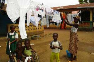 The Water Project: Kasongha Community, 3A Nahim Drive -  Clothesline