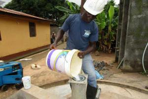 The Water Project: Rosint Community, 16 Gilbert Street -  Pump Installation