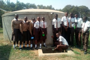 The Water Project: Shiyabo Secondary School -  Clean Water
