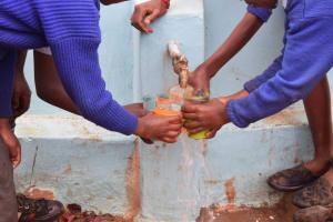 The Water Project: Kyanzasu Primary School -  Clean Water