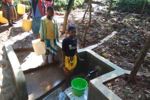 The Water Project: Irenji Community, Shianda Spring -  Clean Water