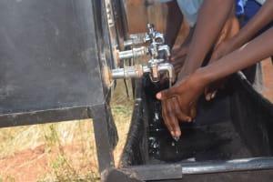 The Water Project: Kyanzasu Primary School -  Hand Washing