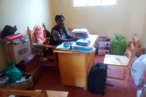 The Water Project: Eshisenye Girls Secondary School -  Principal